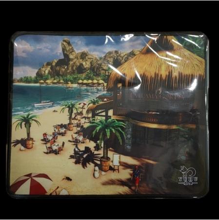 煜狐优质游戏鼠标垫 密拷 300*250*3MM加厚游戏鼠标垫PP袋封装