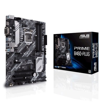 Asus/华硕 PRIME B460-PLUS 大师电脑办公游戏主板ATX大板