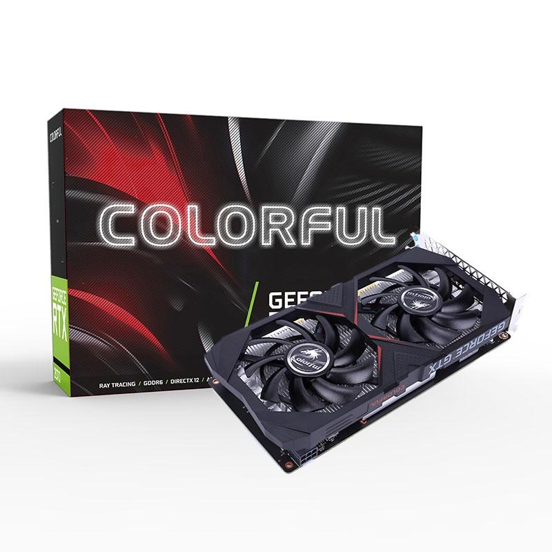 Colorful/七彩虹 GTX1650 Gaming GT 4G DDR5显存 独立游戏