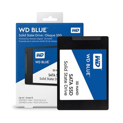 WD/西部数据WDS250G2B0A WDS500G2B0A SATA笔记本台式机 250GB 500G蓝盘SSD固态硬盘