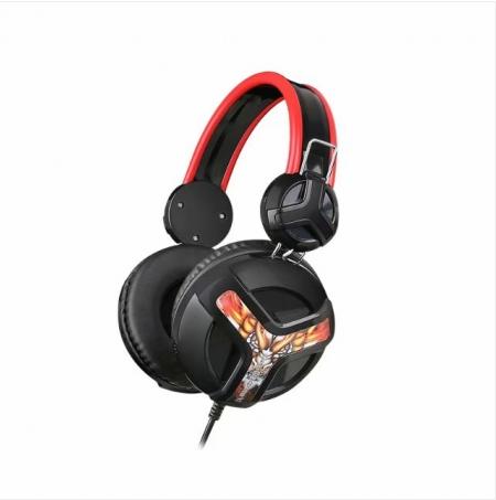 梅赛德V2 吃鸡耳机头戴式台式电竞游戏耳麦绝地求生大耳罩带包装
