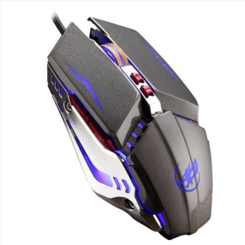 烽火狼T10私模游戏专用加重USB鼠标