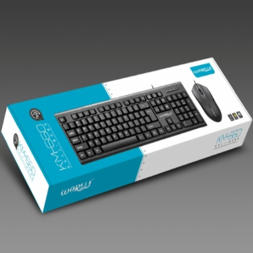 烽火狼KM660有线鼠标键盘套装